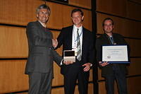 Dalton Medal Ceremony 2011: with Peter Troch (medallist) and Marc Bierkens (citationist)